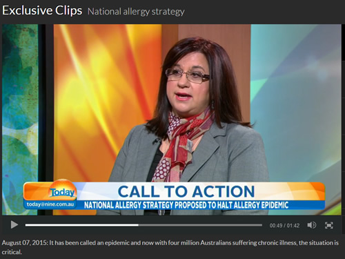 National Allergy Strategy 7102015 ch9 today show