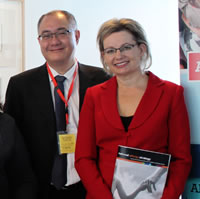 AProf Richard Loh and Sussan Ley