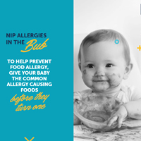 Nip Allergies in the Bub