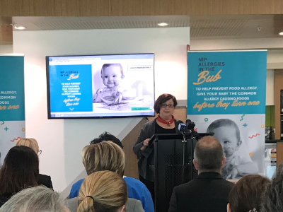 National Allergy Strategy Food Allergy Prevention Project Launch
