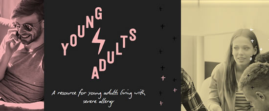 New 250K young adult website
