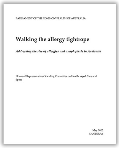 Walking the allergy tightrope