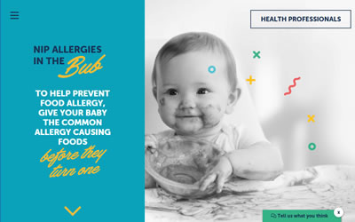 Infant feeding for allergy prevention