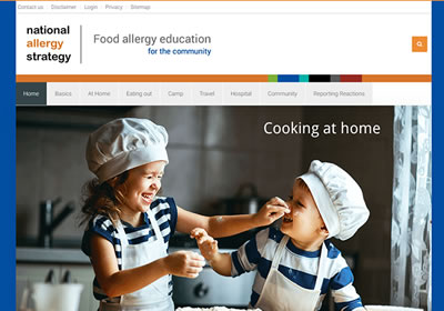 Information for parents and people with food allergy