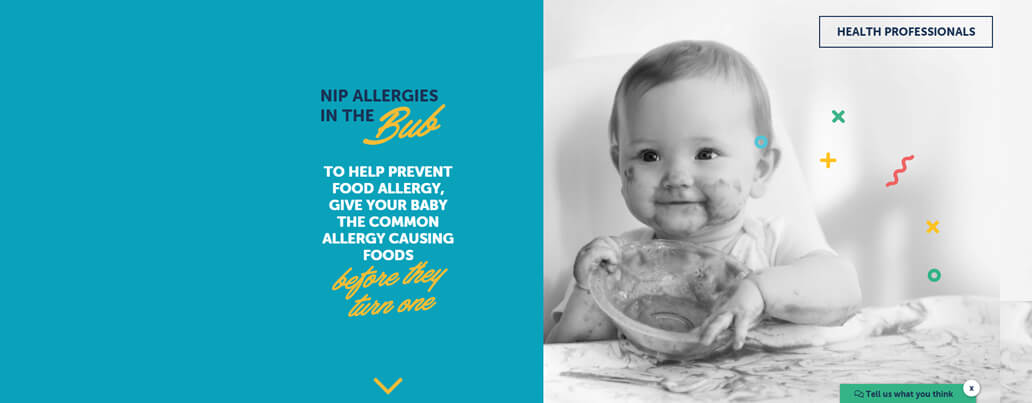 Food allergy prevention project
